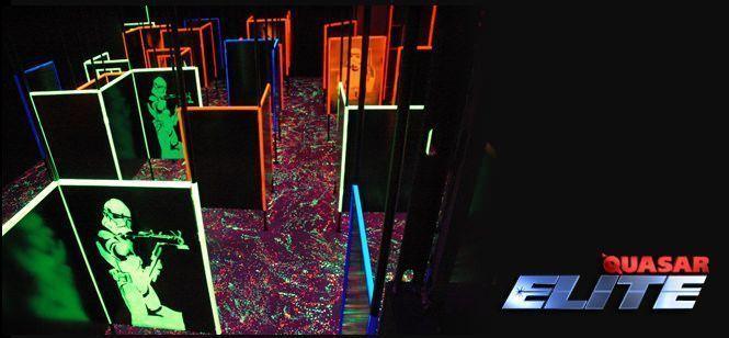 Circuito Quasar Élite Láser tag