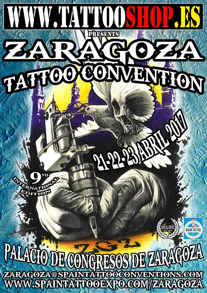 Plan original Cartel Zaragoza Tattoo Convention