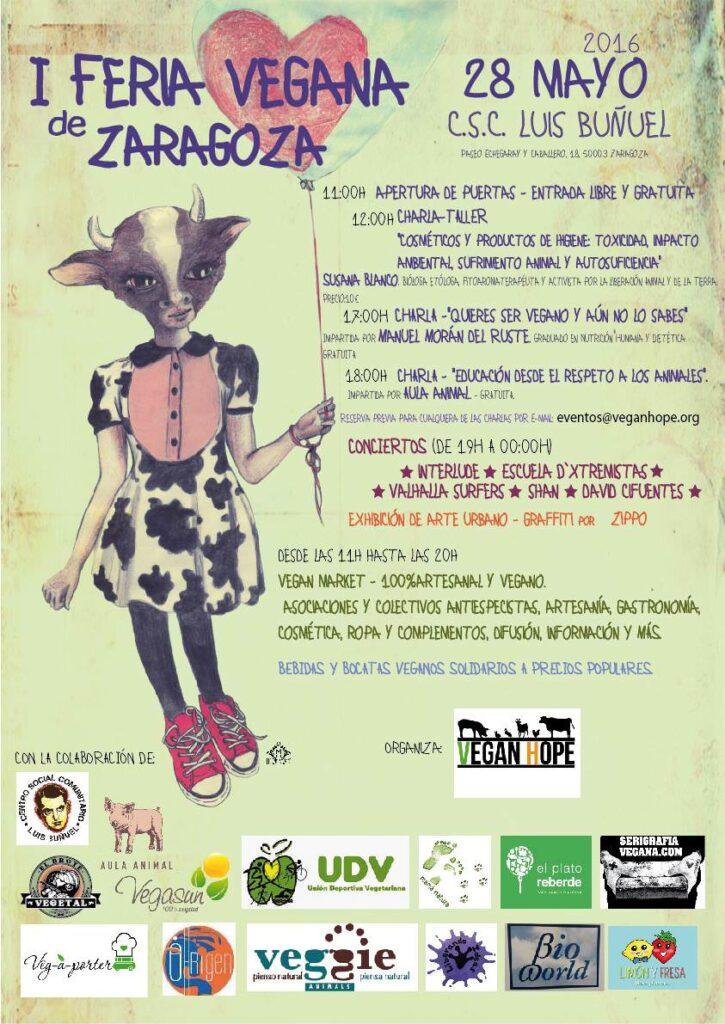 I Feria Vegana de Zaragoza