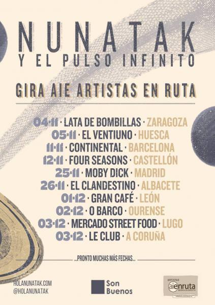 Nunatak presenta su nuevo LP en Zaragoza