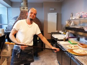 Pizzería Da Claudio horno de leña
