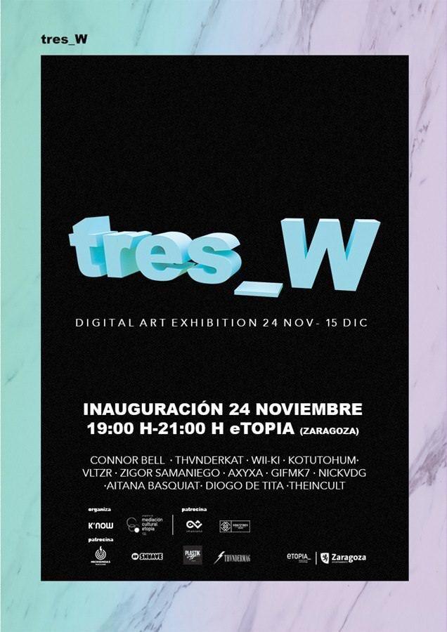 Exposición de arte digital en Etopia