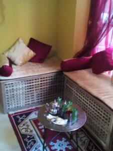 Té natural y dulces árabes Leila Hammam