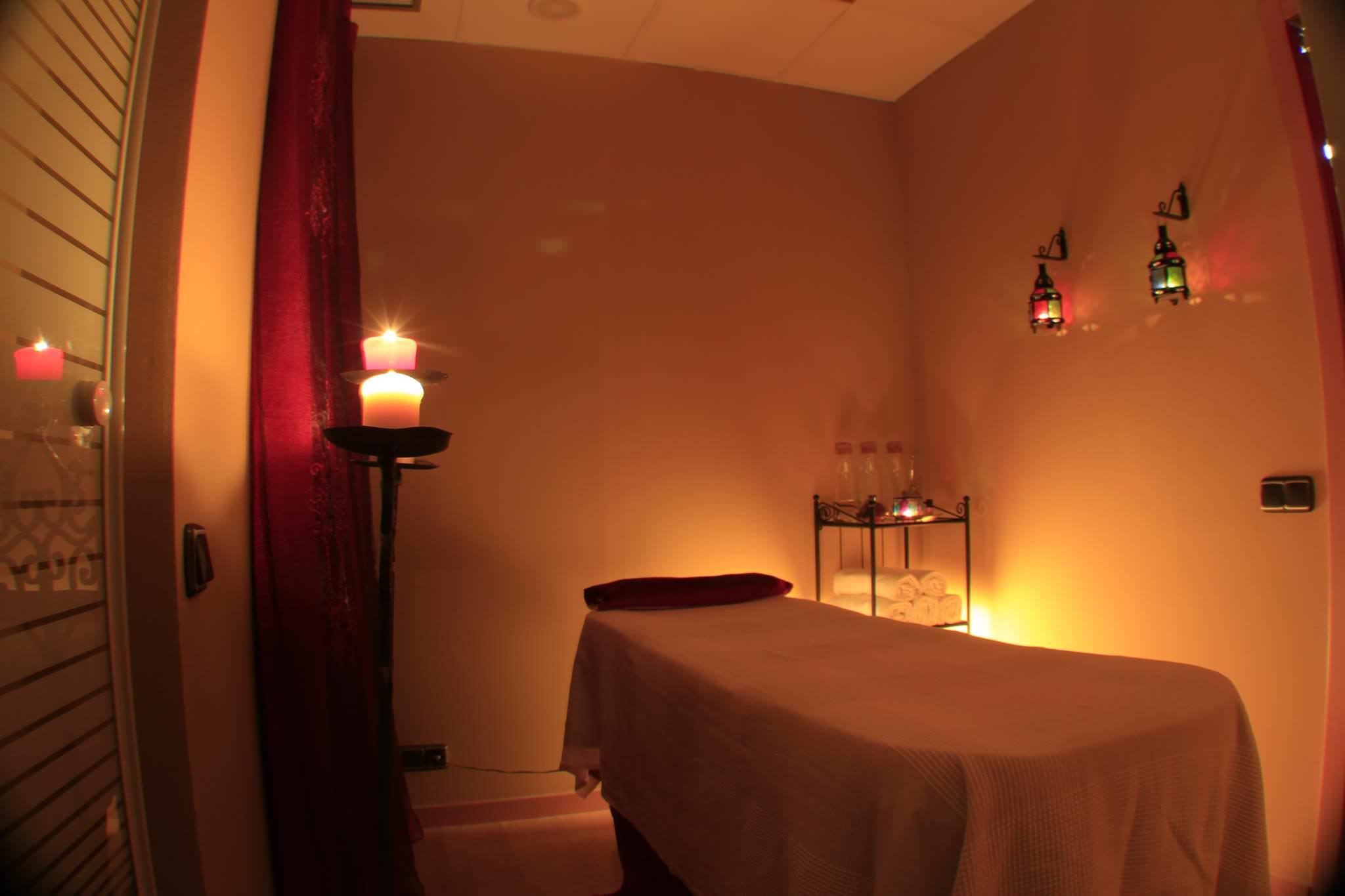 día sala de masaje voyeur