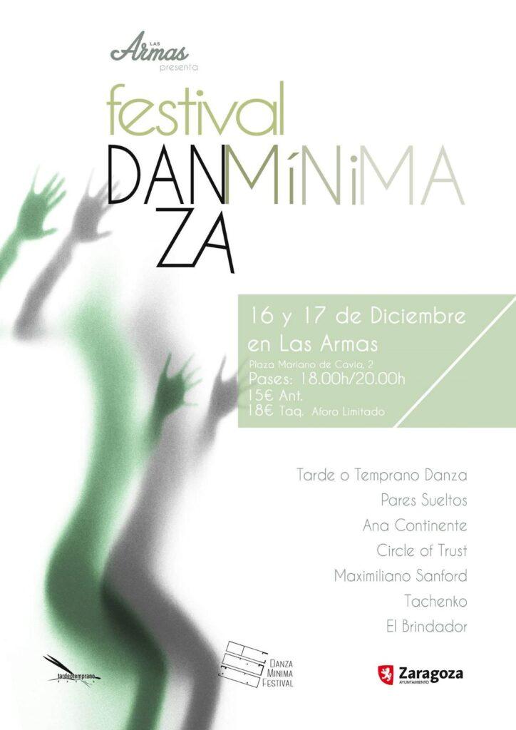 Festival de danza contemporánea en Zaragoza