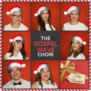 Felicitación navideña The Gospel Wave Choir concierto de gospel