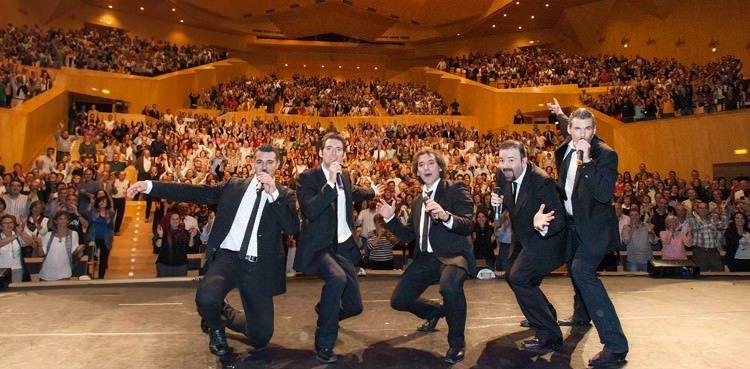 Bvocal en el auditorio de Zaragoza