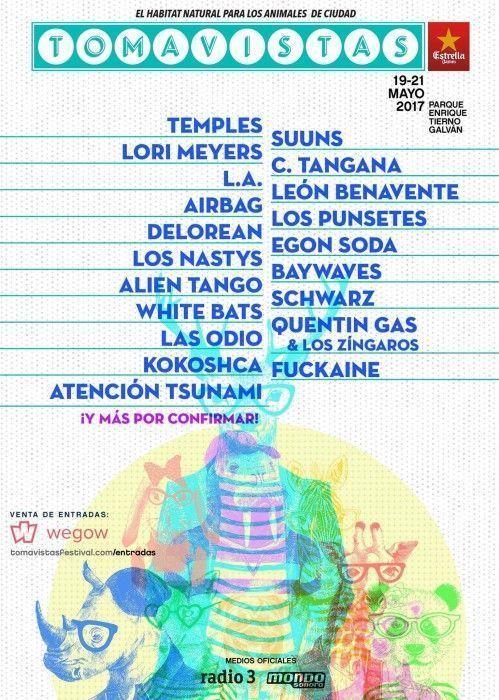 Festival Tomavistas 2017 cartel