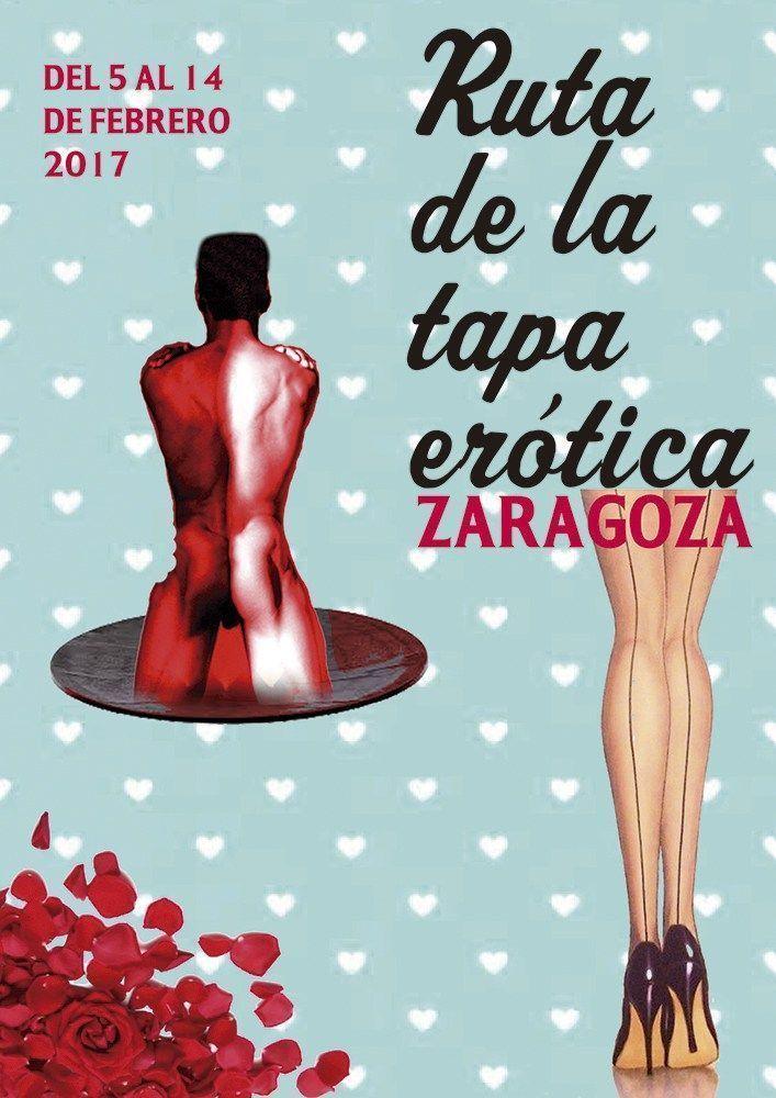 Plan romántico Ruta de la tapa erótica Zaragoza 2017