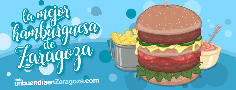 Las 10 mejores hamburguesas de Zaragoza