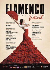 Flamenco Zaragoza Festival plan original en zaragoza
