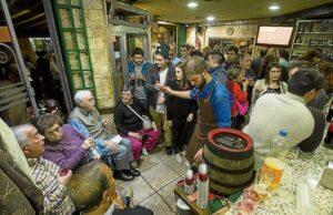 Asociación, tienda de artesanía y bocatería árabe Mr. Dumbo