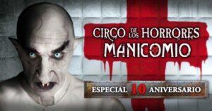 El Circo de los Horrores plan original en zaragoza