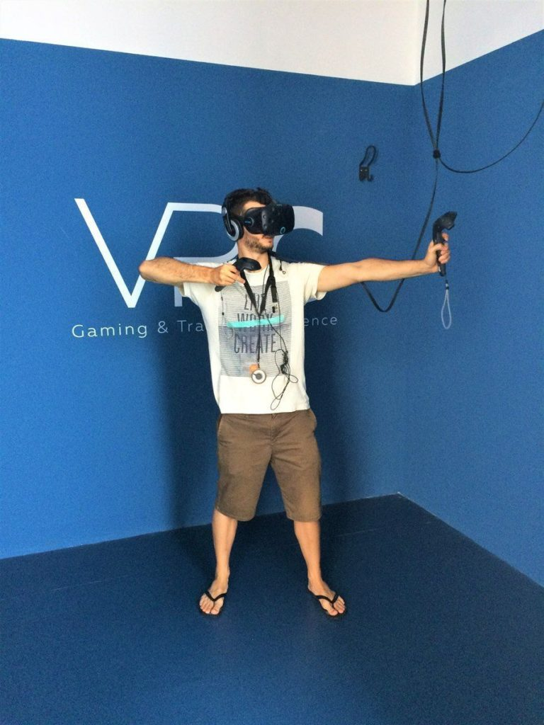 Realidad virtual en Zaragoza. VRCenter