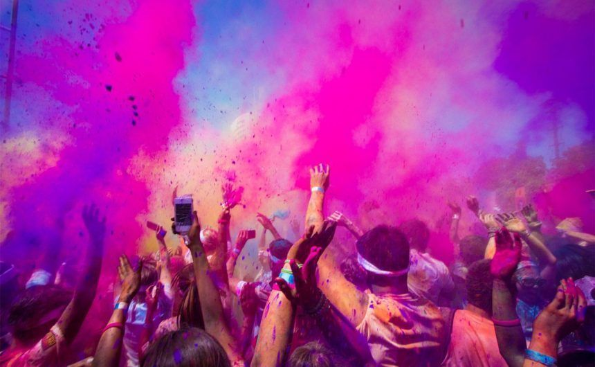 Holi Run 2017, la primera carrera de colores