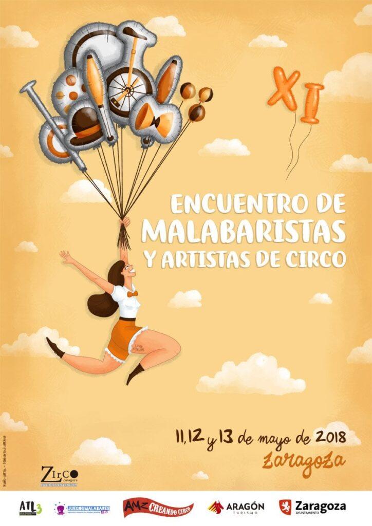 XI Encuentro de Malabaristas y Artistas de Circo en Zaragoza